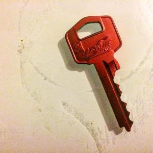key to your front door