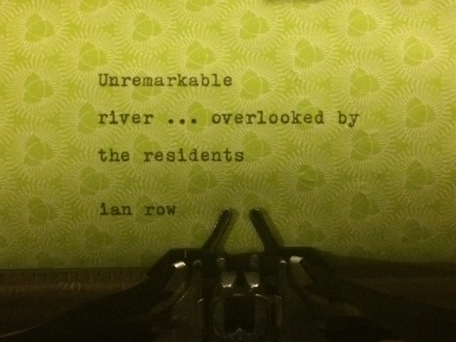 unremarkable river